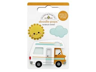 Doodlebug Collection I Heart Travel Doodle Pops Road Trip