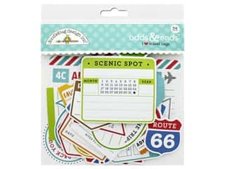Doodlebug Collection I Heart Travel Odds & Ends Tags