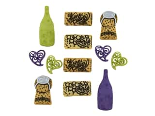 craft & hobbies: Jesse James Dress It Up Embellishments Uncorked