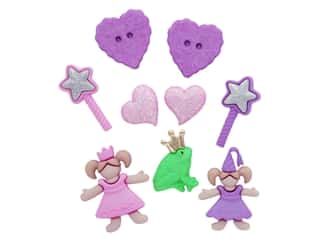 craft & hobbies: Jesse James Dress It Up Embellishments Little Princess