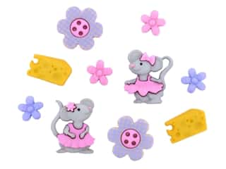 scrapbooking & paper crafts: Jesse James Dress It Up Embellishments The Mice Girls