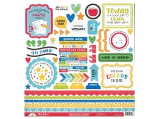 scrapbooking & paper crafts: Doodlebug Collection School Days Sticker This & That (12 sets)