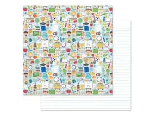 scrapbooking & paper crafts: Doodlebug Collection School Days Paper 12 in. x 12 in. (25 pieces)