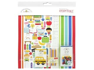 scrapbooking & paper crafts: Doodlebug Collection School Days Essentials Kit