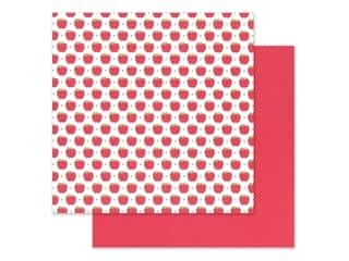 "Doodlebug Collection School Days Paper 12 in. x 12 in.  ""A"" Is For Apple (25 pieces)"