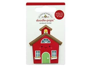 scrapbooking & paper crafts: Doodlebug Collection School Days Doodle Pops School House