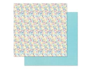scrapbooking & paper crafts: Doodlebug Collection School Days Paper 12 in. x 12 in. Spelling Bee (25 pieces)