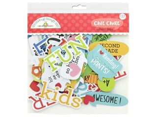 scrapbooking & paper crafts: Doodlebug Collection School Days Chit Chat