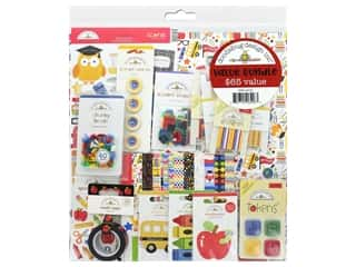 scrapbooking & paper crafts: Doodlebug Collection School Days Value Bundle