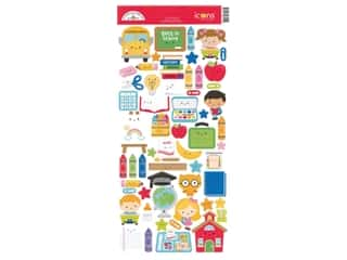 Doodlebug Collection School Days Sticker Icon (12 sets)
