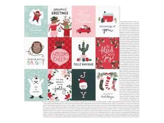 Pebbles Collection Merry Little Christmas Paper 12 in. x 12 in. Holiday Cheer (25 pieces)