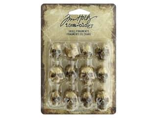 Tim Holtz Idea-ology Halloween Skull Fragments