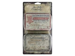 Tim Holtz Idea-ology Halloween Trinket Tins