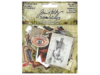 Tim Holtz Idea-ology Halloween Ephemera Pack Snippets