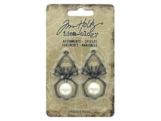 Tim Holtz Idea-ology Halloween Adornments Spiders