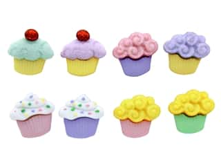 Jesse James Dress It Up Embellishments Button Mini Sweet Treats