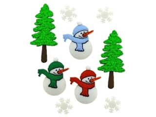 craft & hobbies: Jesse James Dress It Up Embellishments Have a Cool Yule
