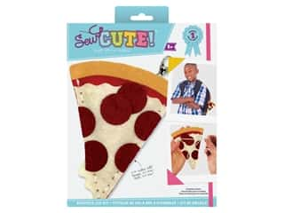Colorbok Kit Sew Cute Backpack Clip Pizza