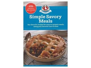 books & patterns: Gooseberry Patch Simple Savory Meals Book