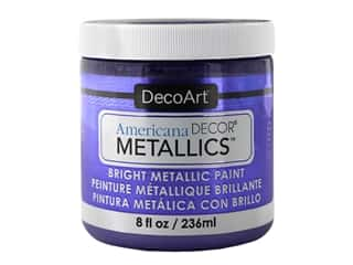 craft & hobbies: DecoArt Americana Decor Metallics - Amethyst 8 oz.