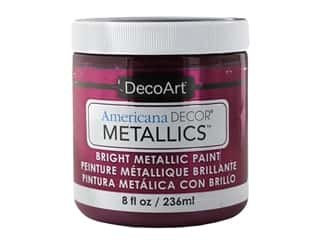 craft & hobbies: DecoArt Americana Decor Metallics 8 oz Berry