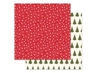 Echo Park Collection My Favorite Christmas Paper 12 in. x 12 in. Snow Flurries (25 pieces)