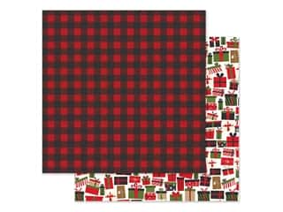 Echo Park Collection My Favorite Christmas Paper 12 in. x 12 in. Winter Flannel (25 pieces)