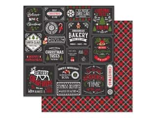 Echo Park Collection My Favorite Christmas Paper 12 in. x 12 in. Christmas Squares (25 pieces)
