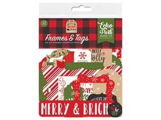 Echo Park Collection My Favorite Christmas Frames & Tags