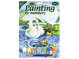 craft & hobbies: Royal Paint By Number Junior Small On The Pond