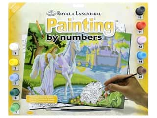 projects & kits: Royal Paint By Number Junior Large Fairy Castle