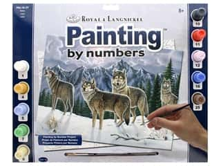 projects & kits: Royal Paint By Number Adult Large Wolves