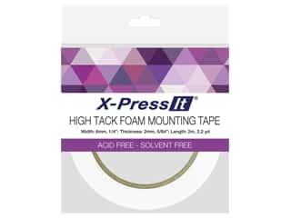 X-Press it High Tack Foam Mounting Tape 1/4 in. x 2.2 yd