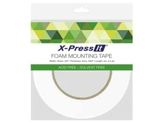 X-Press it Foam Mounting Tape Double Side 3/4 in. x 4.4 yd