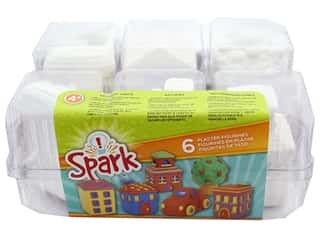 projects & kits: Colorbok Kit Spark Plaster Value Pack City