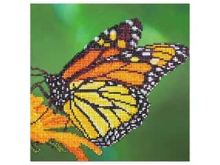 Diamond Art Kit 12 in. x 12 in. Intermediate Monarch
