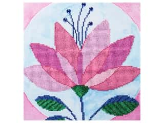 Diamond Art Kit 12 in. x 12 in. Intermediate Modern Flower