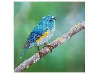 Diamond Art Kit 12 in. x 12 in. Intermediate Blue Bird