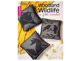 Leisure Arts Woodland Wildlife In Filet Crochet Book