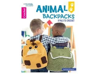 Leisure Arts Animal Backpacks Crochet Book