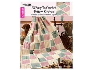 books & patterns: Leisure Arts 63 Easy To Crochet Pattern Stitches Book