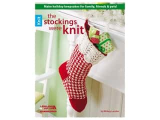 Leisure Arts The Stockings Were Knit Book