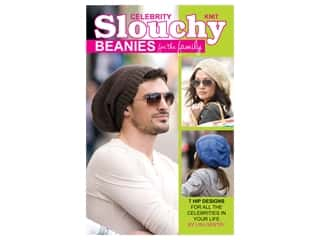 Leisure Arts Celebrity Slouchy Beanies For The Family Book