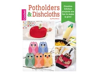 books & patterns: Leisure Arts Crochet Potholders & Dishcloths Book