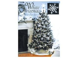 Leisure Arts White Christmas In Thread Crochet Book