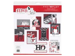 scrapbooking & paper crafts: Photo Play Collection Kringle & Co Card Kit