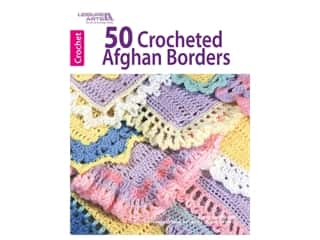 Leisure Arts 50 Crocheted Afghan Borders Book