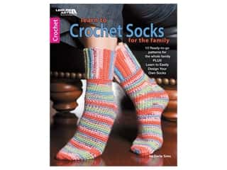 Learn to Crochet Socks for the Family Book