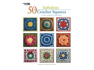 50 Fabulous Crochet Squares Book