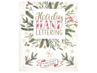 books & patterns: Lark Holiday Hand Lettering Book